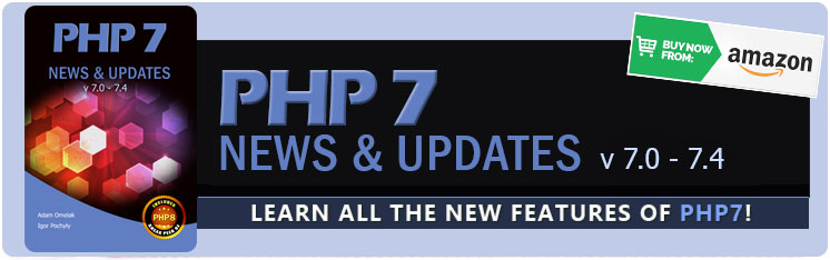 PHP 7 News & Updates v7.0 - 7.4 - book