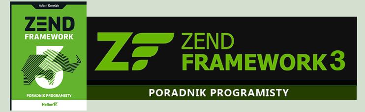 Książka Zend Framework 3. Poradnik Programisty.